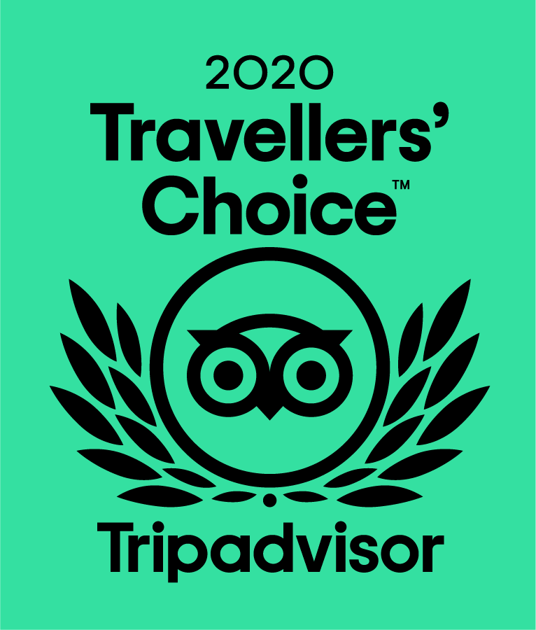 TripAdvisor Certificate of Excellence 2020 Badge